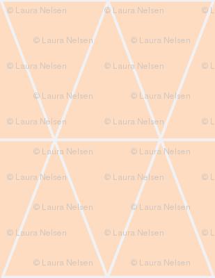 Geo Triangles- blush