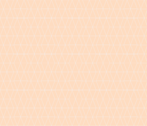 Geo Triangles- blush fabric by tycdesignco on Spoonflower - custom fabric