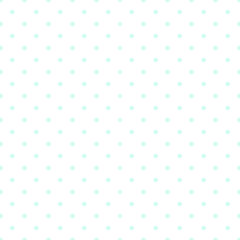 Polka Dots Blue On White Background Wallpaper