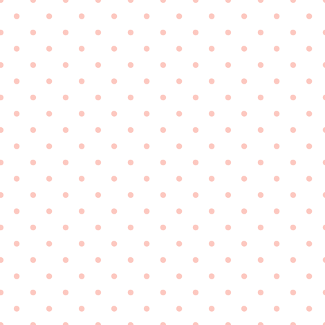 Pink Polka Dots on White Background fabric by shopcabin on Spoonflower - custom fabric