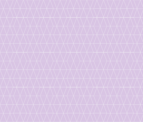 Geo Triangles- Lavender  fabric by tycdesignco on Spoonflower - custom fabric