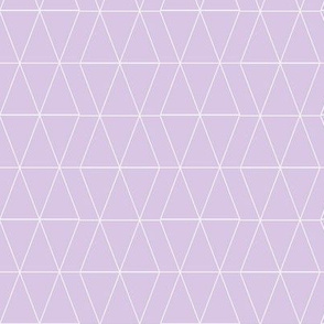 Geo Triangles- Lavender