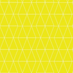 Geo Triangles- Citron