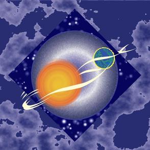 Equinox Sun & Earth - Large format