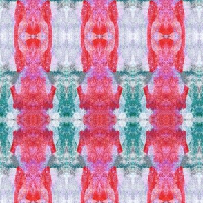 Tribal Stripe Red