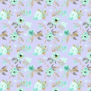 Mint Flowers on Lavender