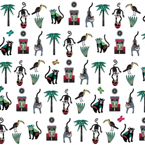 Monkeys: Colorful Jungle for sale