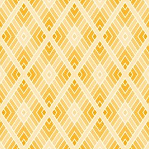 diamond fret : sunshine golden yellow