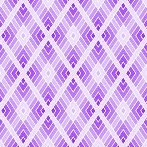 diamond fret : lilac violet