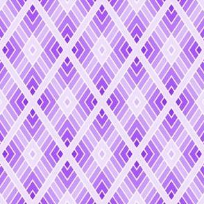 05001078 : diamond fret : lilac violet
