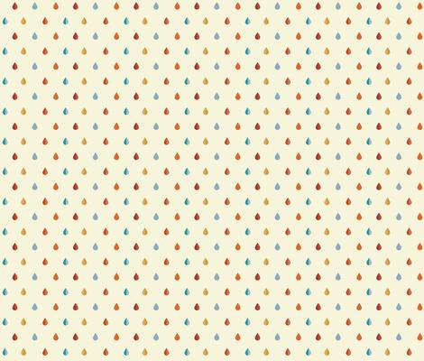 Desert Droplets fabric by tarynosaurus on Spoonflower - custom fabric