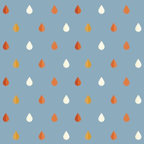 Desert Rain Droplets fabric by tarynosaurus on Spoonflower - custom fabric