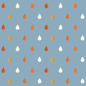 Desert Rain Droplets