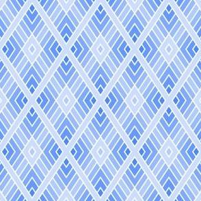 05001085 : diamond fret : sapphire blue