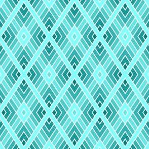 05001100 : diamond fret : cyan teal