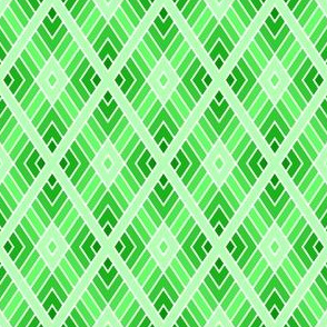 05001115 : diamond fret : emerald green