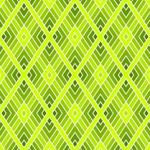 05001124 : diamond fret : chartreuse lime