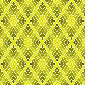 05001134 : diamond fret : yellow olive