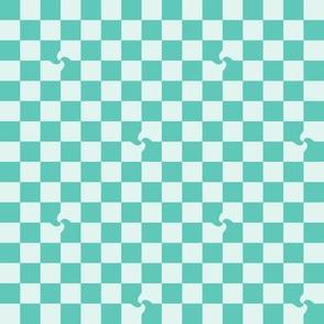 twirl squares green