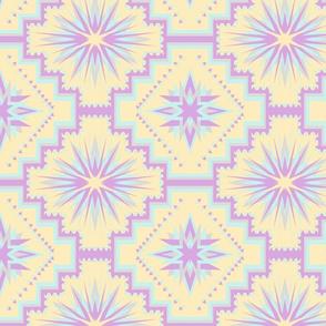 pastel starburst