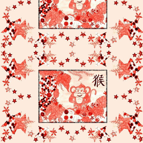 Red Cupcake Monkey In Candy Jungle! - Pink