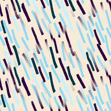 Bohemian Abstract | Flashes on Sky Blue fabric by bohobear on Spoonflower - custom fabric