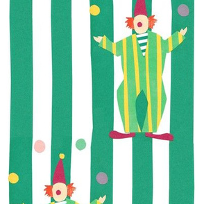 Clowns (green)