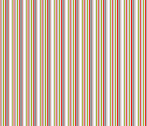 Ruby Rose Stripes fabric by blairfully_made on Spoonflower - custom fabric
