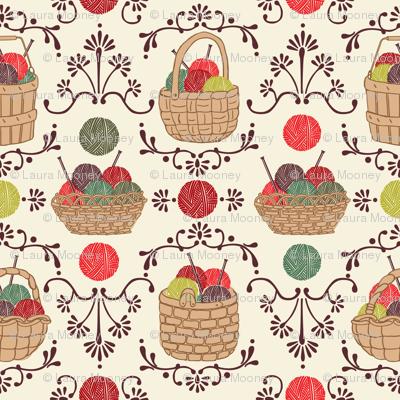 My Knitting Basket