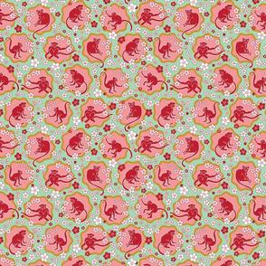 Cherry-Blossom-Monkeys