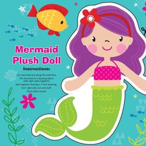 Mermaid Plush Doll Kit