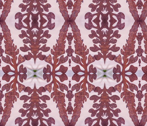 Rusty Leaves  fabric by ciswee on Spoonflower - custom fabric