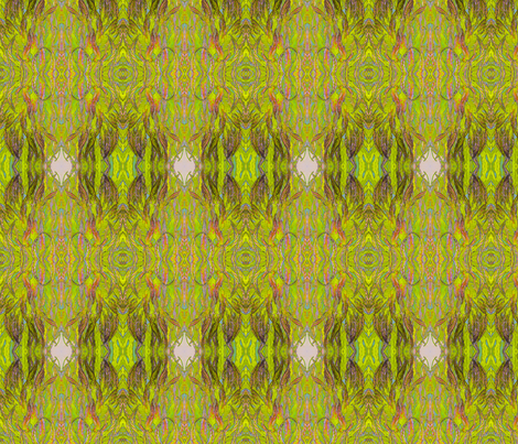 Tall Plant #2  fabric by ciswee on Spoonflower - custom fabric