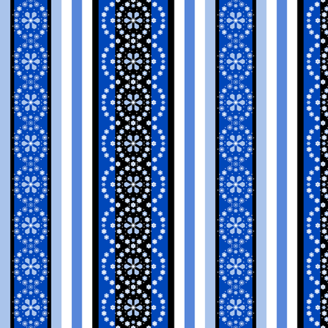 collar_stripes_medalion_Ae off fabric by khowardquilts on Spoonflower - custom fabric