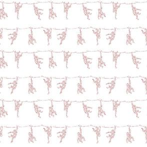 Cherry Blossom Monkeys