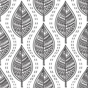 Ornamental leaves