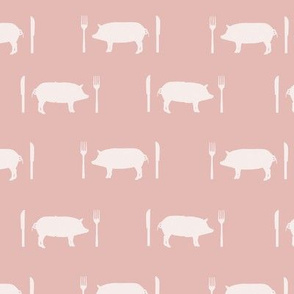 Porky Pies in Pink