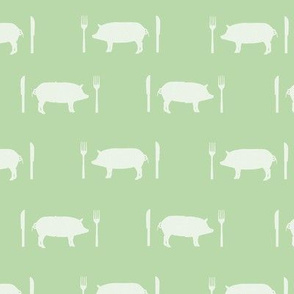 Porky Pies in Green