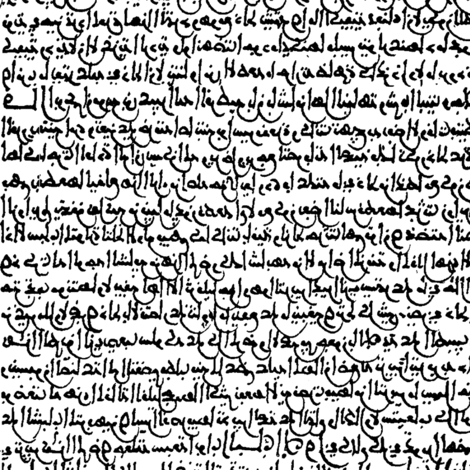 Ancient Arabic // Small fabric by thinlinetextiles on Spoonflower - custom fabric