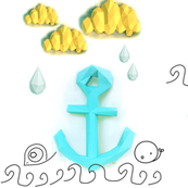 papercraft scene, anchor yourself