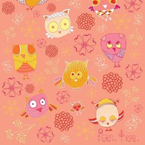Owl Doodles