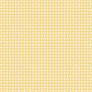 tabby weave yellow