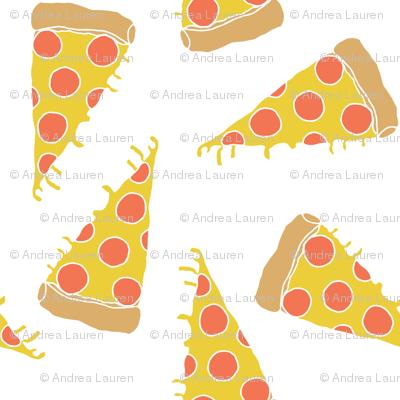 pizza // junk food kids white background pizza print cute pizza food