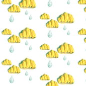 papercraft rain cloud