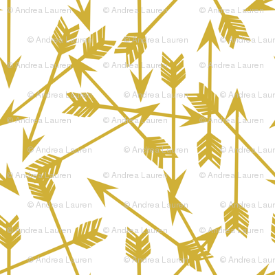 arrow // arrows mustard yellow outdoors adventure adventurers arrows nursery gender neutral kids boys