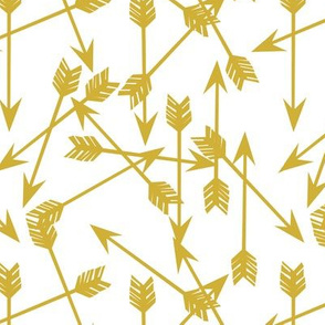 arrow // arrows mustard yellow outdoors adventure adventurers arrows nursery gender neutral kids boys
