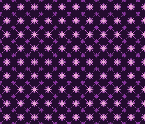 Violet Starbursts fabric by puggy_bubbles on Spoonflower - custom fabric