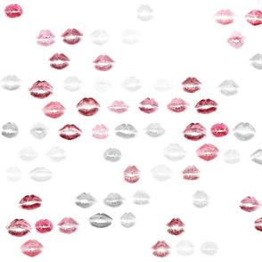 lipstick lips <3 (small pattern)