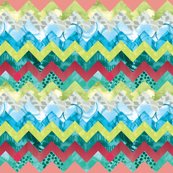 Patterned Chevron