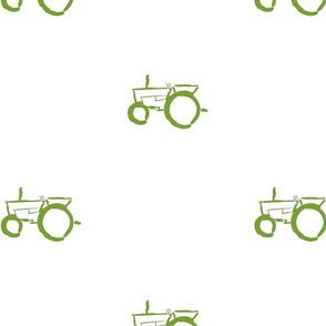 Tractors green